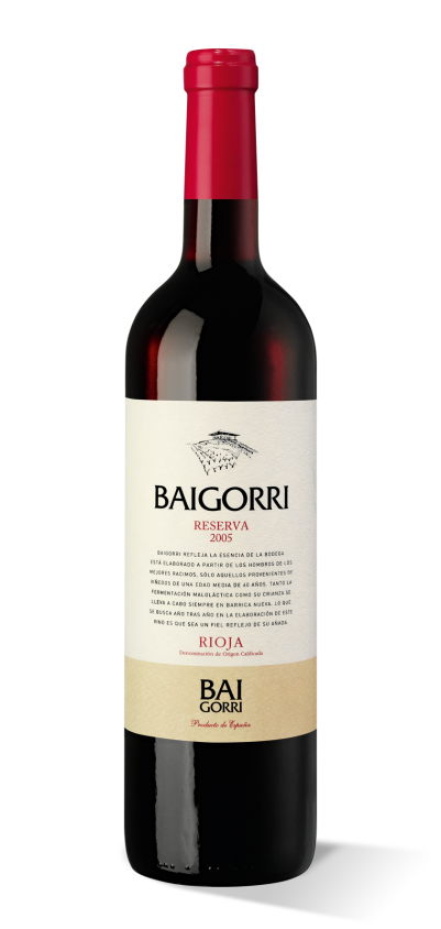 Baigorri Rioja Reserva 2005