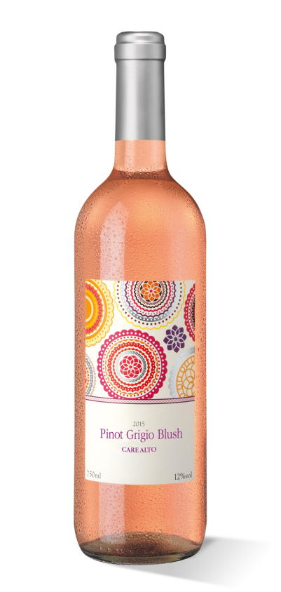 Care Alto Pinot Grigio Blush 2015