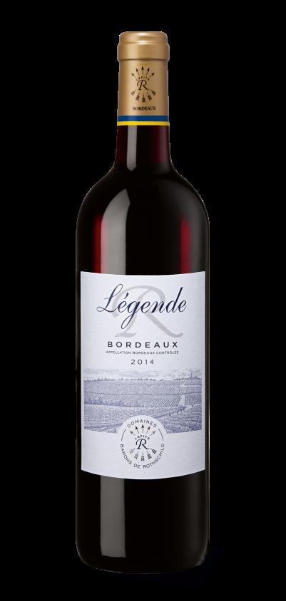 Légende Bordeaux rouge 2014