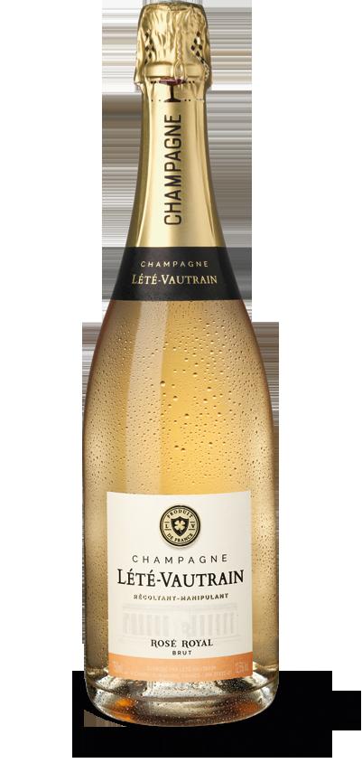 Champagne Lété-Vautrain Rosé Royal