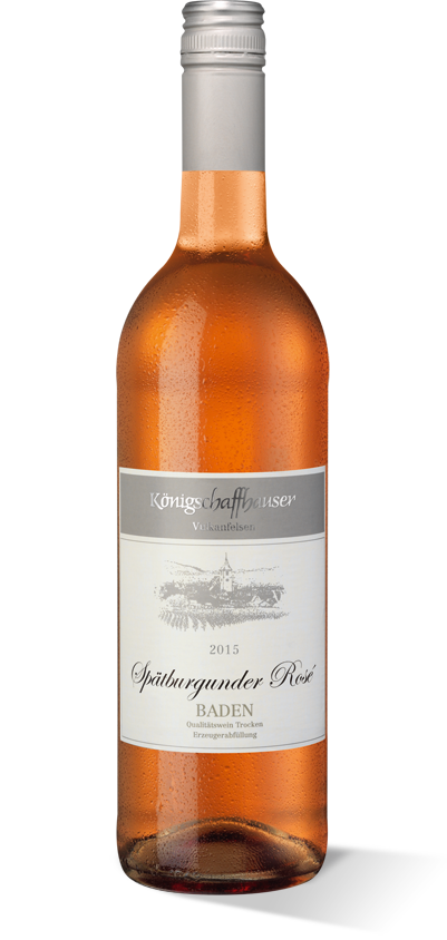 Königschaffhauser Vulkanfelsen Spätburgunder Rosé 2015