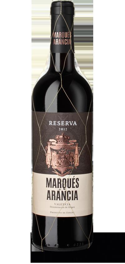 Marqués de Arancia Reserva 2012