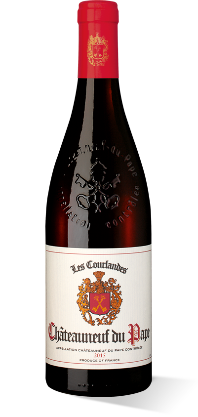 Les Courlandes Châteauneuf-du-Pape 2015