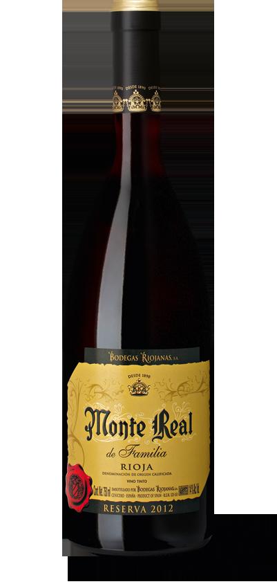 Monte Real Rioja Reserva de Familia 2012