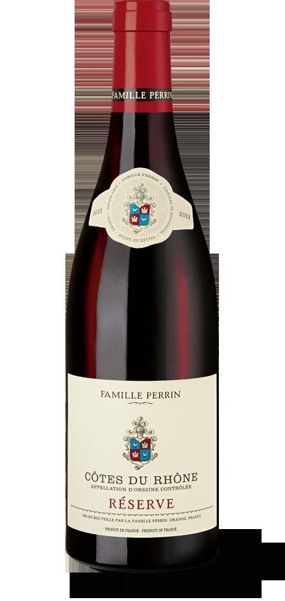 Famille Perrin Côtes du Rhône Réserve Rouge 2015