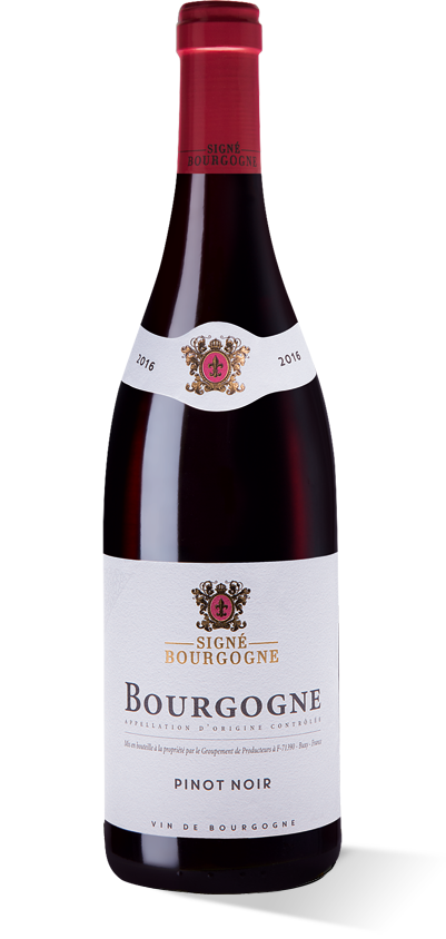 Signé Bourgogne rouge 2016