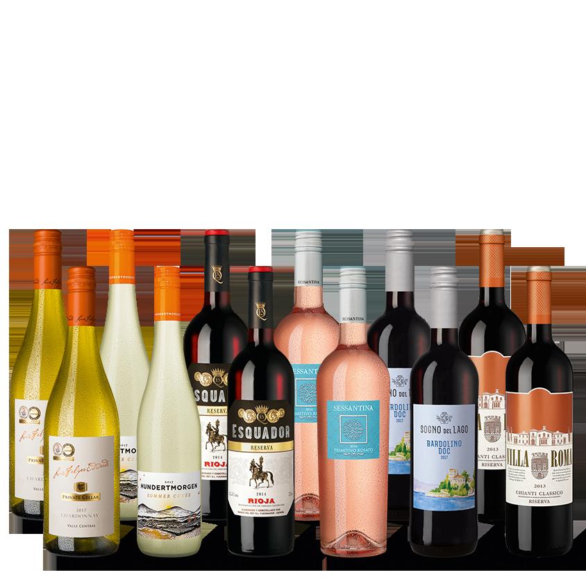 Vinpaket Fruktigt & Friskt