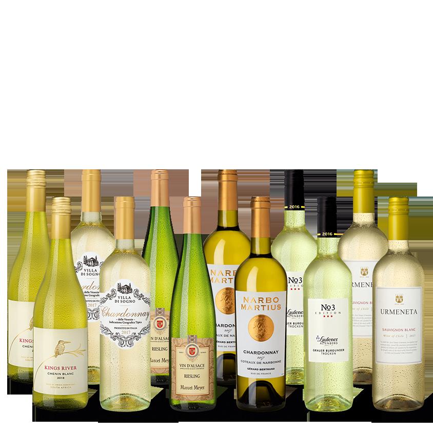 Vinpaket Vitt urval