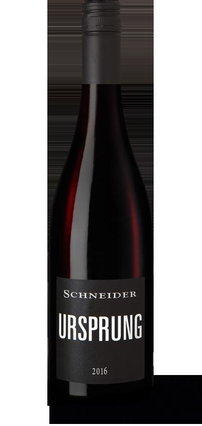 Ursprung Rotwein 2016