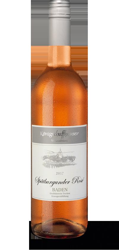Königschaffhauser Vulkanfelsen Spätburgunder Rosé 2017