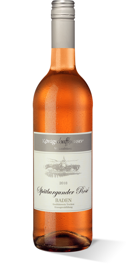 Königschaffhauser Vulkanfelsen Spätburgunder Rosé 2018