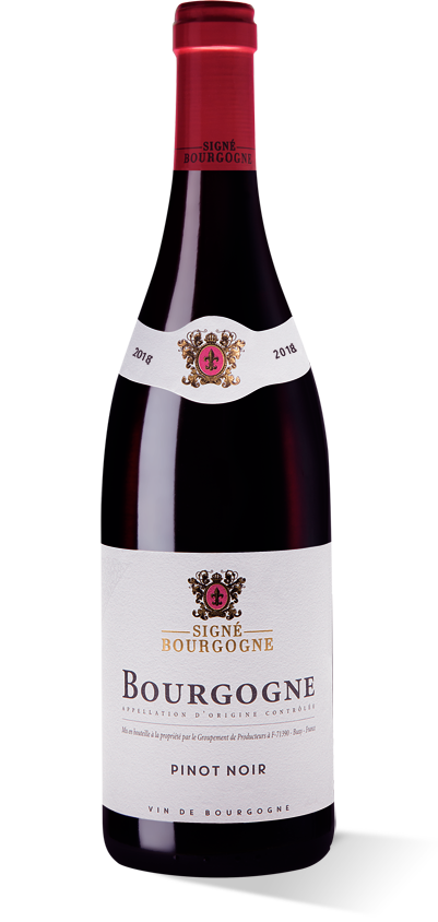 Signé Bourgogne rouge 2018