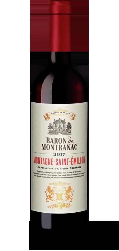 Baron de Montranac Montagne-Saint-Emilion 2017