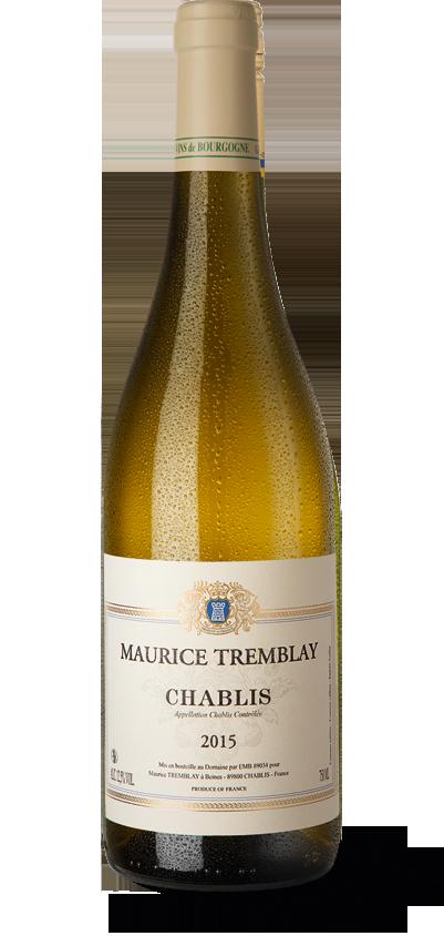 Maurice Tremblay Chablis 2015