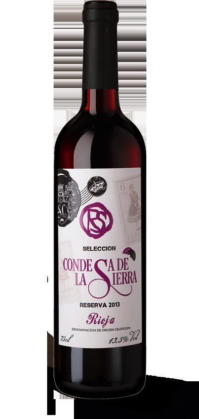 Condesa de la Sierra Rioja Reserva Selección 2013