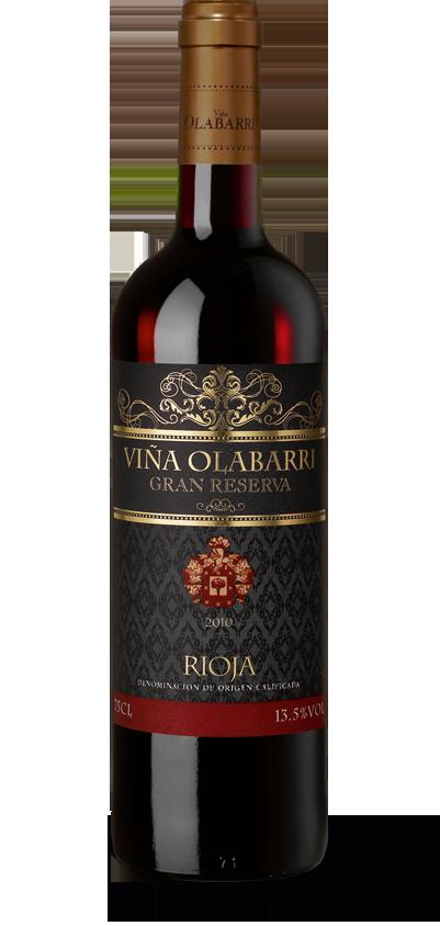 Viña Olabarri Rioja Gran Reserva 2010