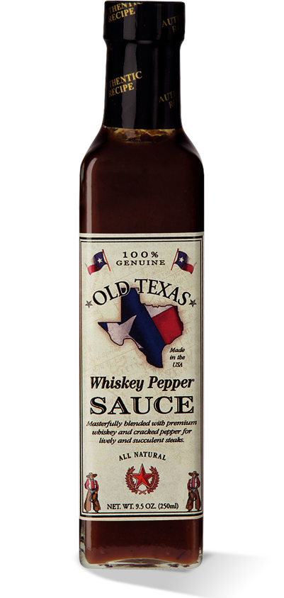Old Texas Whiskey Pepper BBQ Sås