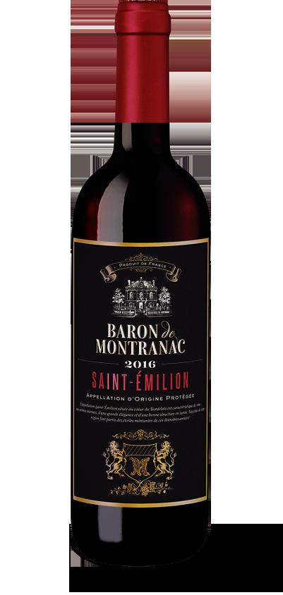 Baron de Montranac St.-Emilion 2016
