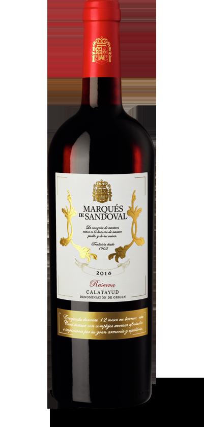 Marqués de Sandoval Reserva 2016