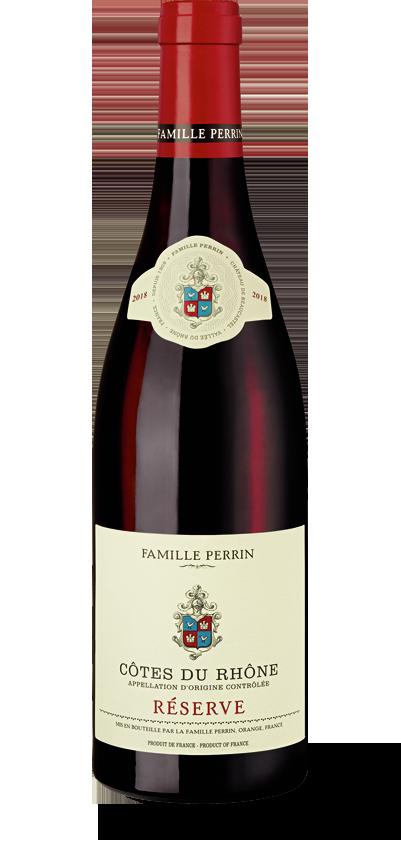 Famille Perrin Côtes du Rhône Réserve Rouge 2018