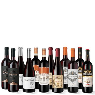 Provpaket eleganta viner