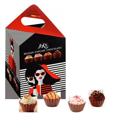 Cupcakes av choklad