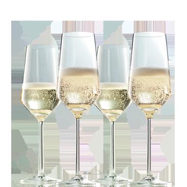 Zwiesel Kristallglas Pure Champagneglas