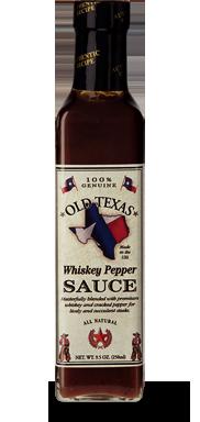 Old Texas Whiskey Pepper BBQ Sås