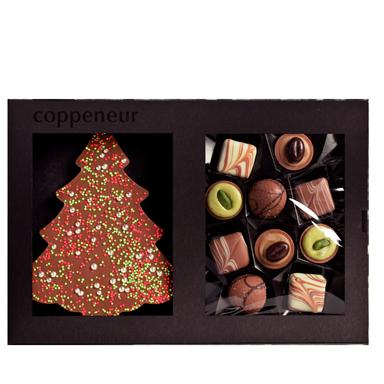 Chokladjulgran & praliner