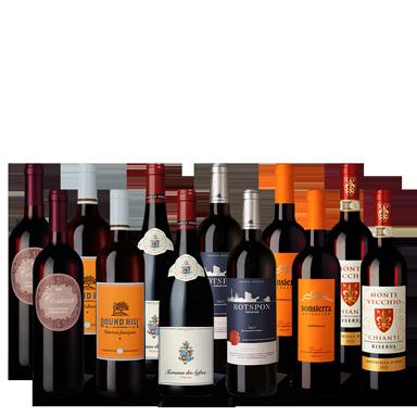 Vinpaket Top Reds