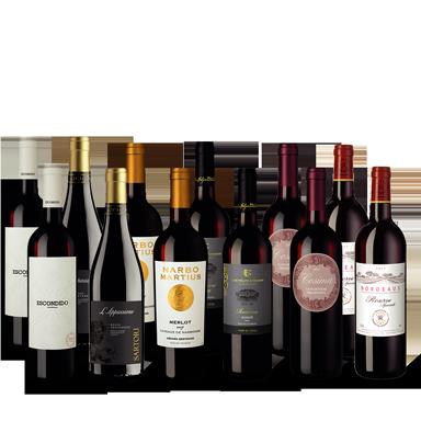 Vinpaket Rött urval II
