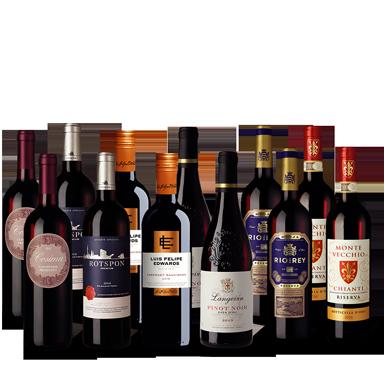 Vinpaket Röda Klassiker