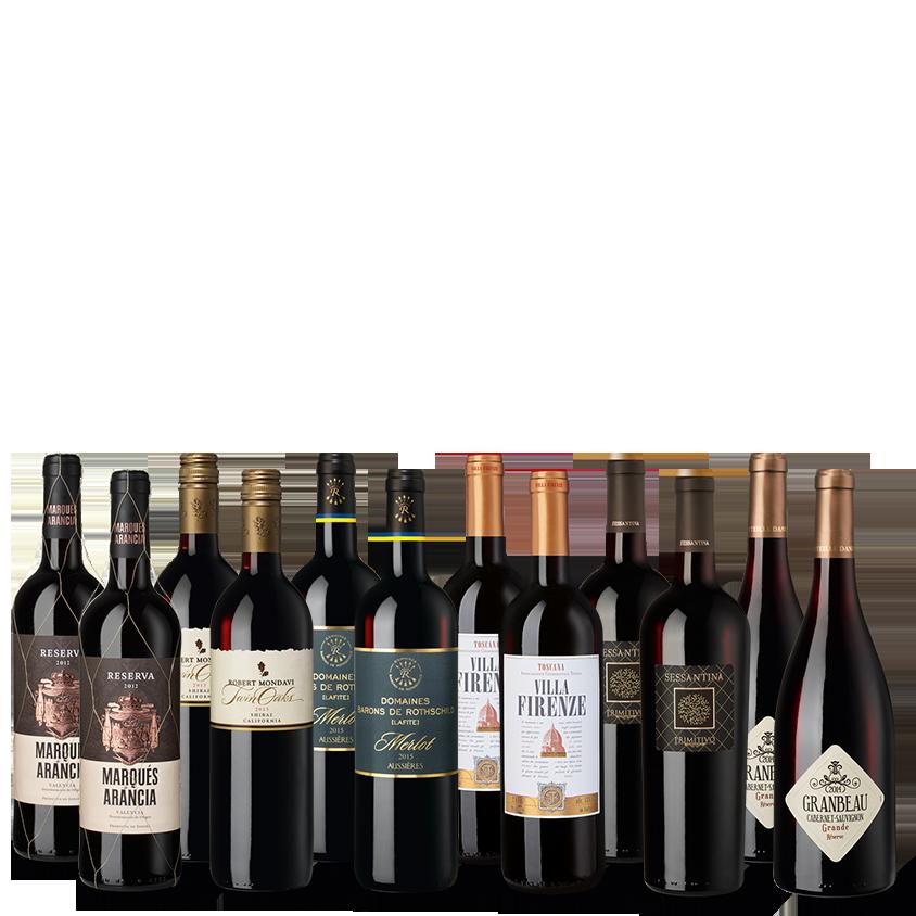 Provpaket Röda viner