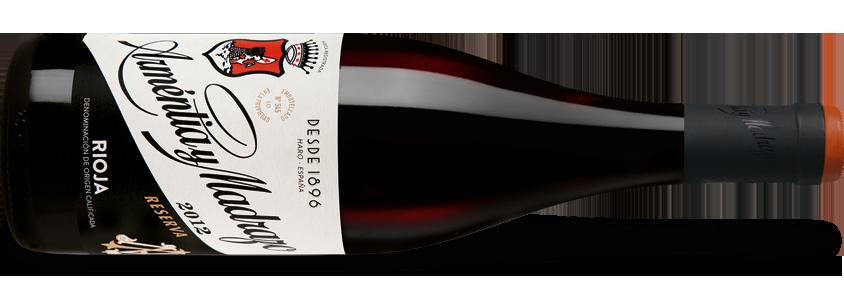 Arméntia y Madrazo Rioja Reserva 2012