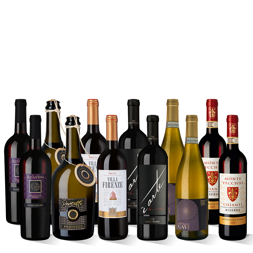 Vinpaket Bella Italia