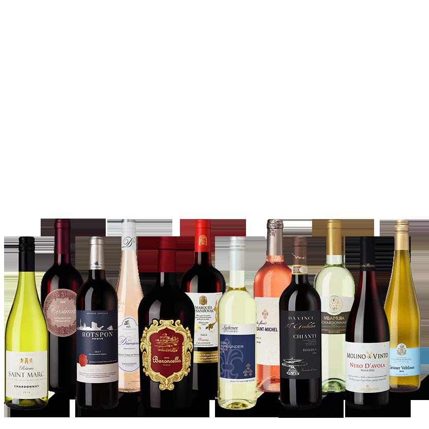 Vinpaket Färgstarka favoriter