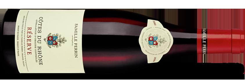 Famille Perrin Côtes du Rhône Réserve Rouge 2016