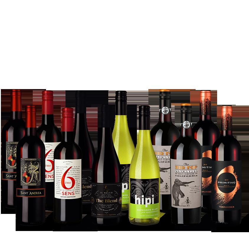 Provpaket Världens viner