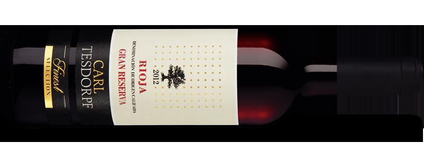 Tesdorpf Finest Rioja Gran Reserva 2012