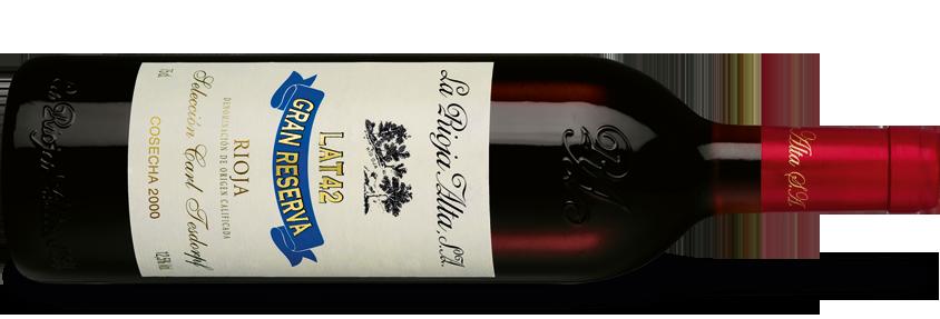 La Rioja Alta Lat 42 Rioja Gran Reserva 2000