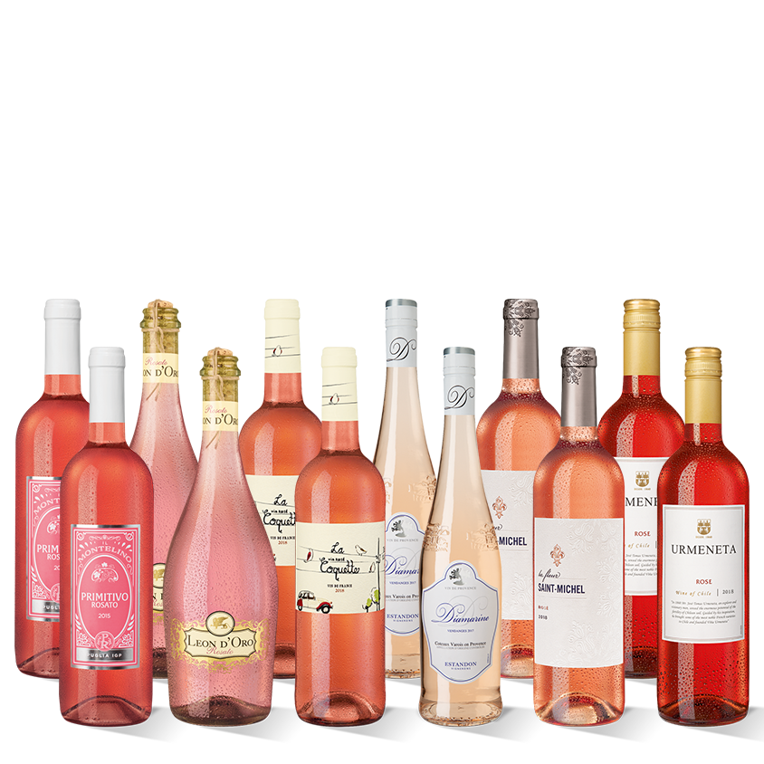 Vinpaket Rose-Highlights