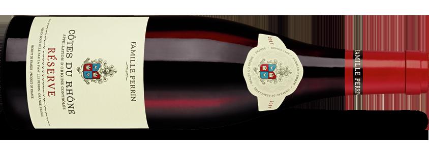 Famille Perrin Côtes du Rhône Réserve Rouge 2017
