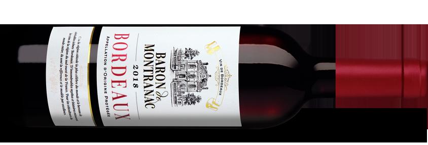 Baron de Montranac Bordeaux 2018