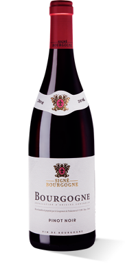 Signé Bourgogne rouge